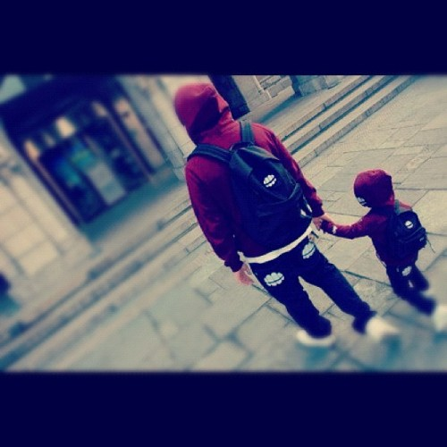 I want my future husband and son like this<3 (Tomada con Instagram)