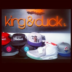 Yeezy 2's at King&Duck #Nike #Yeezy2 #kingandduck #work #sneakerheads (Taken with Instagram)