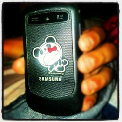 #swag #hellokitty #samsung (Taken with Instagram)