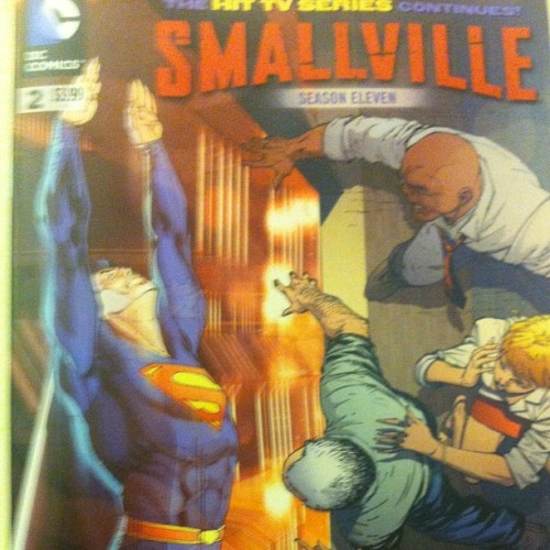 #smallville #comic #comicbook #dc #dcunivere #superman  (Taken with Instagram)