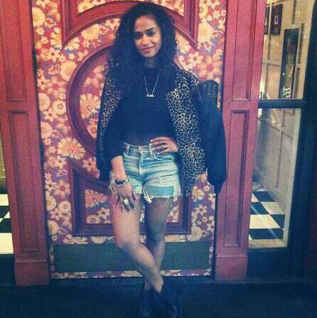The jacket    Instagram @vashtie