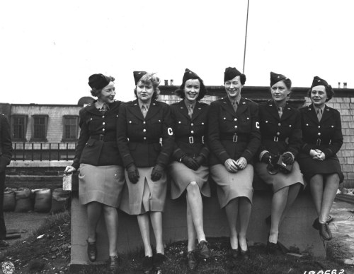 European Theater Women War Correspondents, Feburary 1st, 1943.