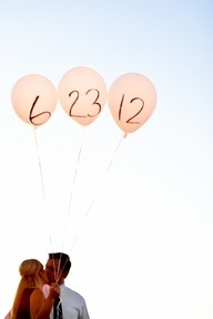 Cute save the date idea.