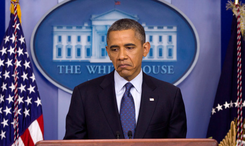 "Carolyn Kaster/AP Photo President Obama urged congress to ""take another look"" at his proposal to spur job growth at a White House news conference."