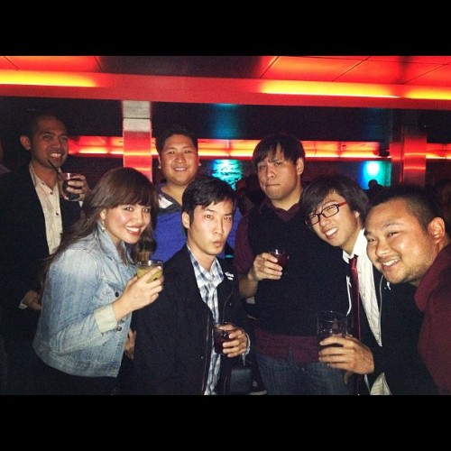 Crew At Sway Nightclub for Krystle Cruz's new music video! (Taken with Instagram)