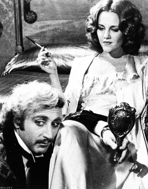bellecs:  Gene Wilder and Madeline Kahn in Young Frankenstein (1974) dir. Mel Brooks