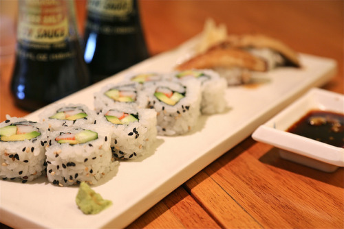160/366 sushi time by ajbrusteinthreesixfive on Flickr.