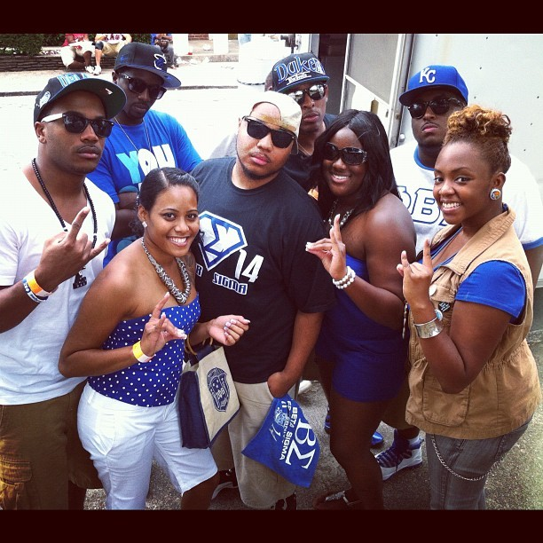 #ATLGreekPicnic #FallOGREAT I 💙 my Blue&White Fam!!!! #Zphiiiiii (Taken with Instagram)