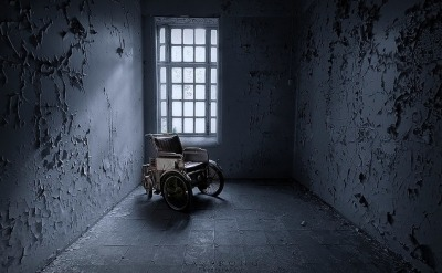 ominousplaces:  The electric wheelchair, by aasprong photography.