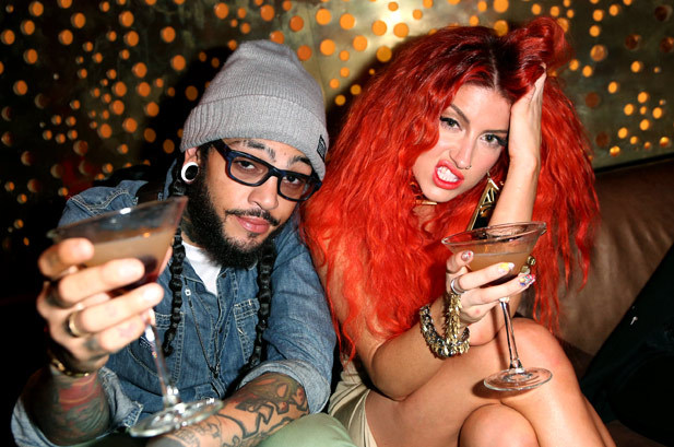 @TravieMcCoy at Hotel Noir Miami