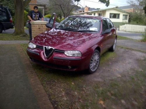 My Princess: Alfa Romeo 156 code named 932 following on the  stylings of the Porsche 932 The car that revived Alfa Romeo's name Red on Red leather Lightened Sports Rims A front wheel differential system that even the Italians can't explain Track set up - >2L C Class My lil' Princess