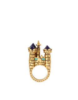 Disney Couture 3D Castle RingMore photos & another fashion brands: bit.ly/IMcf8m