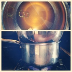 Citrus syrup reduction. Key ingredient in #lionheart (Taken with Instagram)