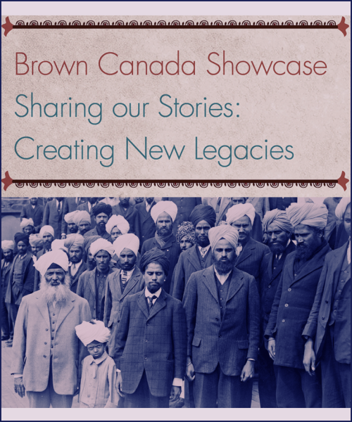 "Brown Canada ShowcaseSharing Our Stories: Creating New LegaciesWednesday June 27th, 20125:30–9:00 p.mGrace Church41 Britain Street, Toronto (east of Queen station) Dinner served from 5:30-6:30 pm.Program starts at 6:30 pm, sharp. This is a Free Event, but space is limited; please RSVP before June 25th  by registering your free ticket at eventbrite. Questions? Email browncanada@cassa.on.ca or  call 416 932 1359 x14.http://creatingnewlegacies.eventbrite.com/www.browncanada.caCASSA's Brown Canada team proudly invites you to our project's Showcase, an Informative and entertaining event featuring:· The premiere of the original play ""Oh Canada, Oh Komagata Maru!"" · A screening of the Brown Canada DVD· The ""Our Stories, Our Histories"" South Asian history exhibit· An interactive discussion about Racialized & Indigenous histories· A free resource booklet on South Asian histories in CanadaVisit www.browncanada.ca for more info & to share your story online!The Brown Canada Theatre Project will be presenting ""Oh Canada, Oh Komagata Maru!"" a series of vignettes written and directed by Alia Somani. ""Oh Canada, Oh Komagata Maru!"" is about one of the least known yet most significant episodes in the history of Canada. What is called the Komagata Maru incident took place in 1914, when a group of 376 Punjabi migrants aboard a Japanese ship – the Komagata Maru – was turned away from Canada's western seaboard and refused entry into the country. The Komagata Maru incident may have occurred almost 100 years ago, but it has not been forgotten. Instead it continues to haunt us, to reverberate in our nation's consciousness. In fact, in 2008, Prime Minister Stephen Harper stood up in Bear Creek Park and declared that on behalf of Canada, he was sorry for the events of 1914. ""Oh Canada, Oh Komagata Maru!"" explores, among other things, this apology; it considers how much of our past is remembered and how much still remains buried; and most importantly, it asks us to relive the experiences of those who traveled to Canada in 1914 in search of a better life, and a better future.Eventbrite: http://creatingnewlegacies.eventbrite.com/ Tumblr: http://browncanada.tumblr.com/ Facebook: https://www.facebook.com/browncanadaproject Facebook event: https://www.facebook.com/events/204810092975235/ Website: https://www.browncanada.ca/"