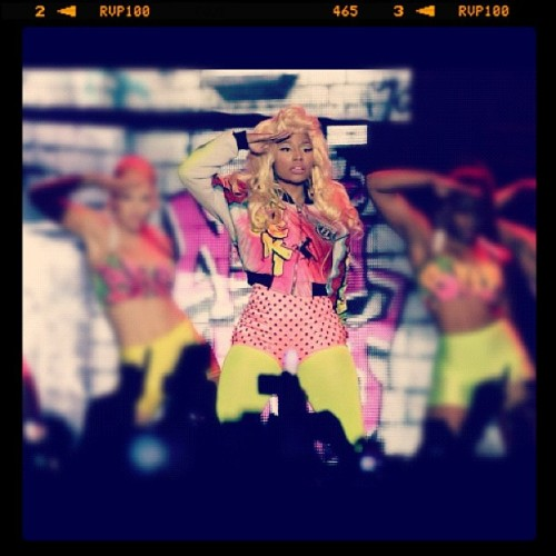 #Salute #nickiminaj #epic #awesome #beautiful  (Taken with Instagram)