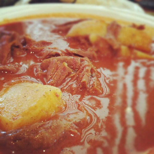 Hilachas: shredded meat cooked in rich tomato sauce with potatoes. #carne #stew #comida #foodie #food #foodporn #foodblog #guatemala #centralamerica #studyabroad #latincultures #latin #latinfoods (Taken with Instagram) Amalia's Restaurant 751 N Virgil Ave Los Angeles, CA 90029 www.amaliasrestaurant.com  A Spanish for Success blog: www.spanishforsuccess.com  Created by: Russo Mutuc                                          Youtube  .  Facebook  .  Twitter