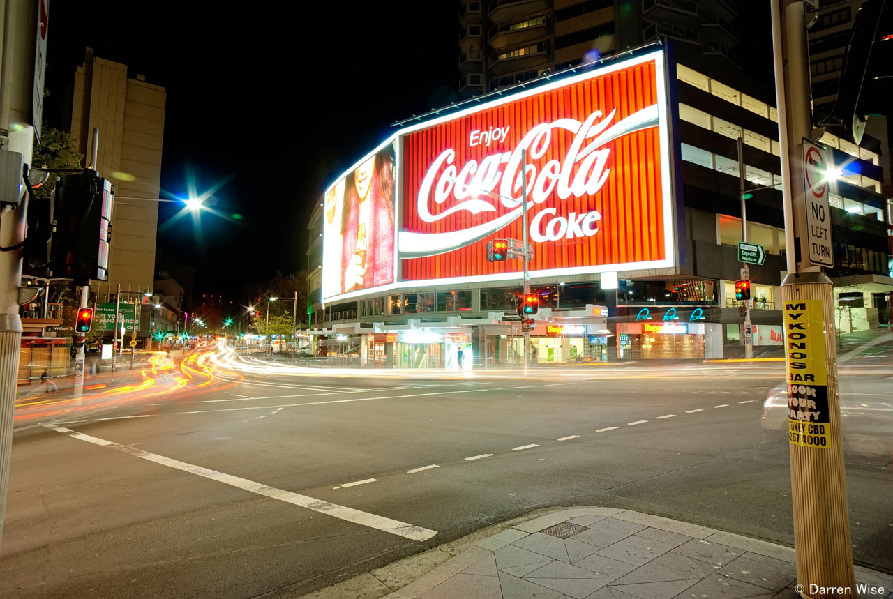 """Live Positively"" – Coca Cola Sign Kings Cross, Sydney, Australia Why should we not enjoy and strive for a well-balanced lifestyle? Believe me from experience, when you don't have great life balance, things will ultimately break, but you won't know they are broken until it is too late and the damage is done. The preventative and best measure is to make the effort to continually focus on a maintaining a balanced lifestyle and don't wait until it is too late to have to make drastic changes…make a balanced lifestyle a way of life!! www.corporatemonk.com.au www.darrenwise.com.au www.peakpotential.net.au"