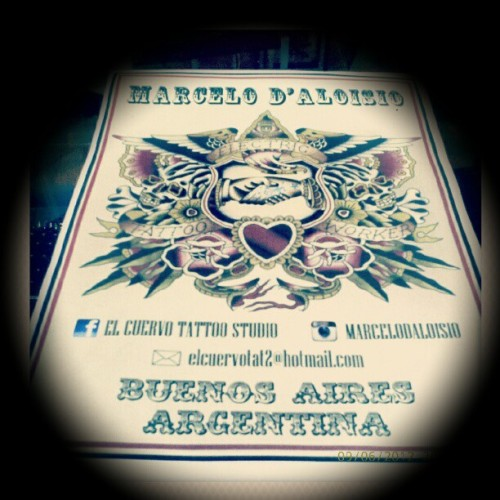 Next card and banner..#classic #traditional #tattoo (Tomada con Instagram)