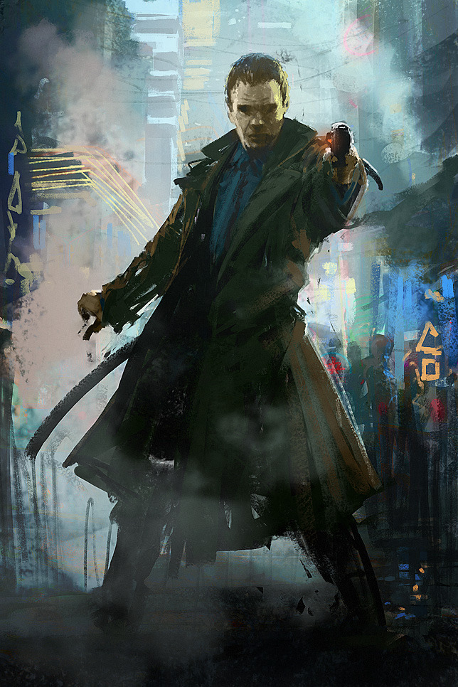 xombiedirge:  Blade Runner by Jan Ditlev Christensen