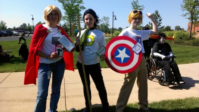 superbooties:   annadroid:   avengerstuck for cissie uwu taken at colossalcon if this is you let me know   I AM FUCKING CRYING OMGjkWIOhWR WHAT   OHMYGOD alskdf  No. You don't understand, GUYS THIS IS US??? sob we're so quality so cool No we really aren't