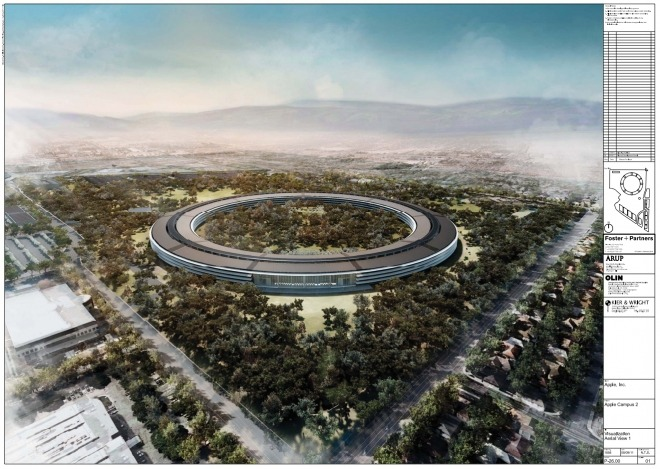 wired:  We've got the floorplans for Apple's proposed 'Spaceship' campus, and it looks…. spacey.