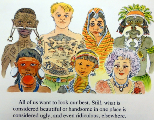 "paintmyworldrainbow:  This is from my favorite childhood book ""People."" If you have never had a chance to read it, buy it or get a copy from the library. Even in adulthood it is so worthwhile."