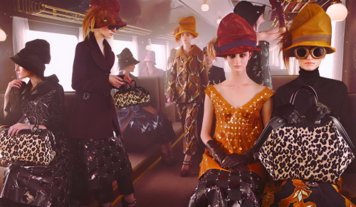 Louis Vuitton Fall/Winter 2012 campaign.
