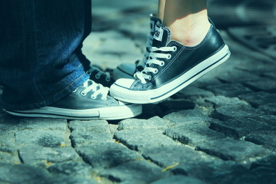 "awesomechucks:  (via 500px / Photo ""converse lovers"" by FRANT FIFA)"