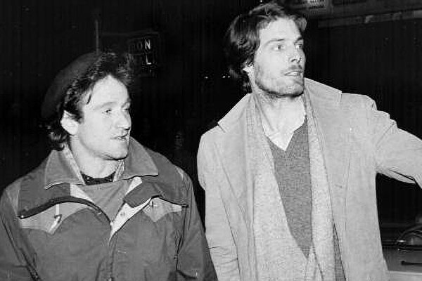 Robin Williams and Christopher Reeve