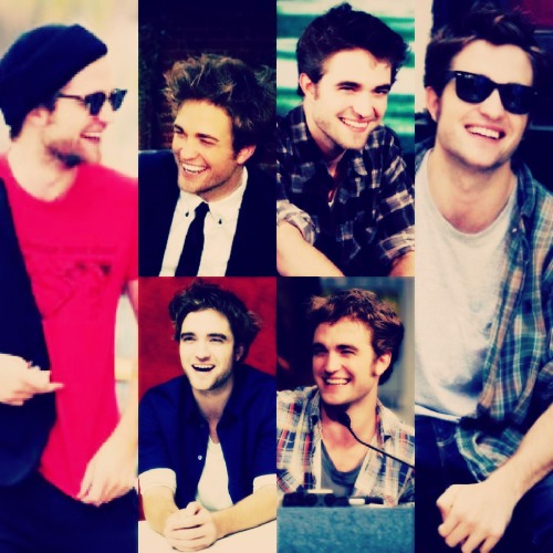 Theme: Laughing Robert Pattinson