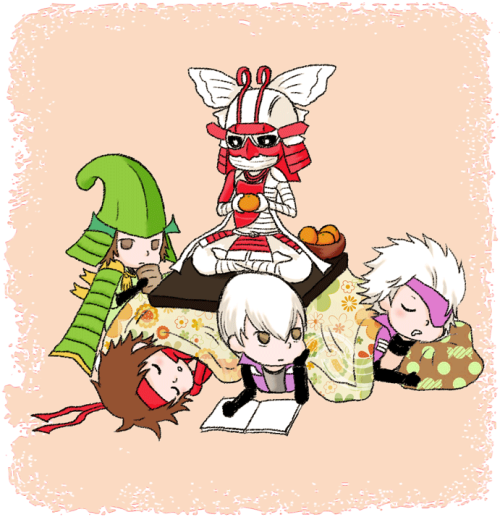 Mitsunari's Western Slumber Party Ieyasu and Masamune aren't invited. D: