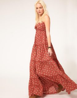 Denim & Supply By Ralph Lauren Floral Maxi DressMore photos & another fashion brands: bit.ly/JgQgMy