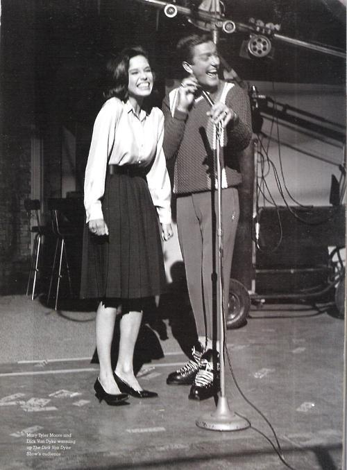 Warm-up Dick van Dyke had some extreme shoes. (Via heck-yea-mary-tyler-moore.)