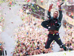 Coldplay Performing at Capital FM's Summertime Ball 2012