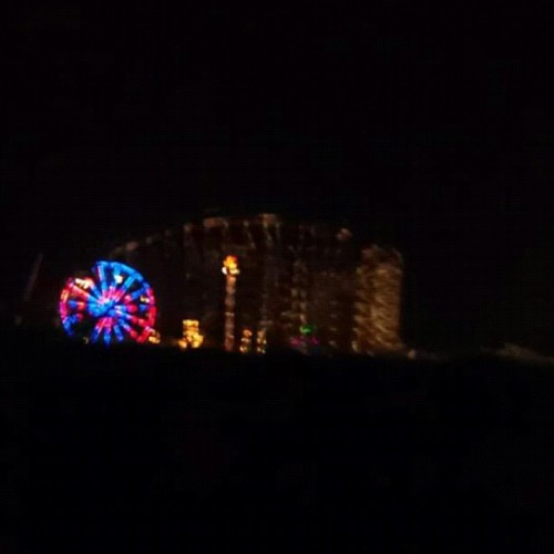 why is six flags light up? (Taken with Instagram)