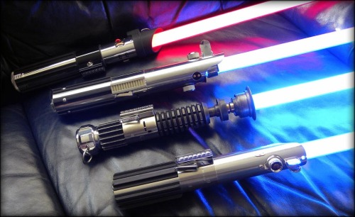 Homemade lightsabers