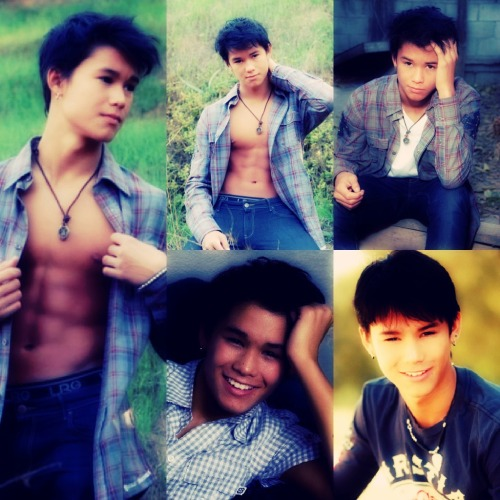 Celebrity Collage: Booboo Stewart  He's so perfect