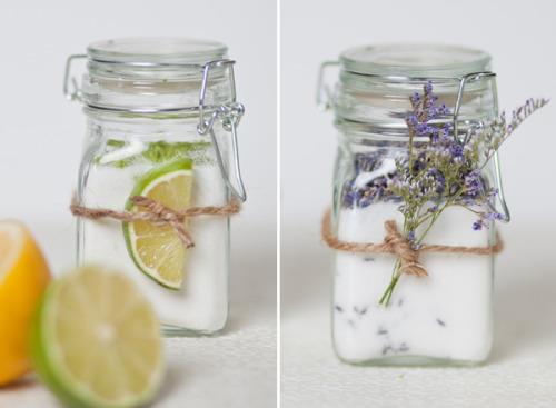 DIY:  Infusing Sugar