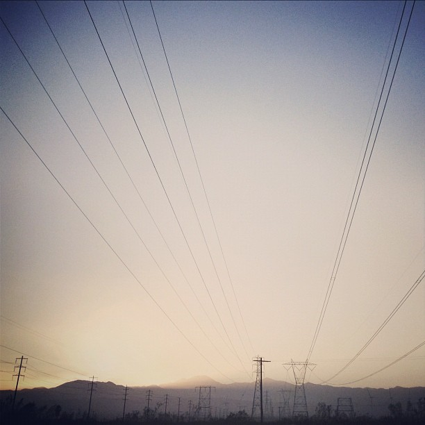 Sizzlin'.. #outheremane #defvalle #powerlines  (Taken with Instagram at Traders of the Lost Surplus)