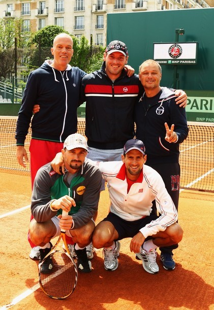 Nole's awesome team!