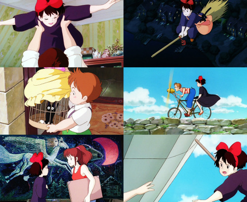 Movies Watched In 2012 | 165) Majo no takkyûbin/Kiki's Delivery Service (1989) i remember watching this movie all the time when i was really little. seeing this on my dashboard was a serious blast-to-the-past for me (and now i'm re-watching it to remember how really amazing it is).