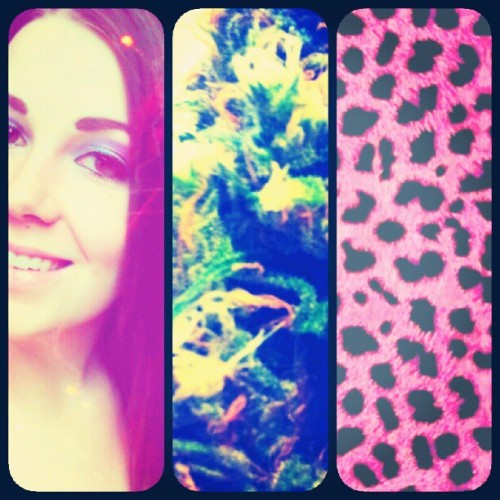 sums me up ♡ #cheetah #bluedream #cloud9  (Taken with Instagram)