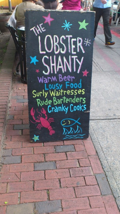 The Lobster Shanty, Salem