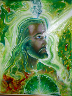 Psychedelic Jesus.  Please Follow.
