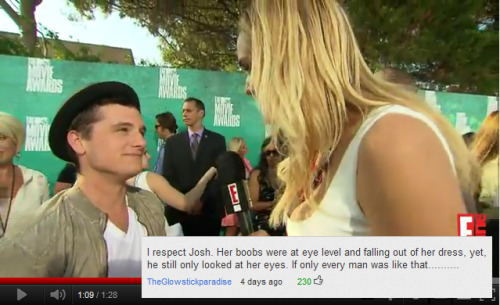 iloveyoujhutch:  Reason number 466495463126546 why I love Josh Hutcherson.