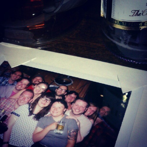 okokilltellyou:  A-Reebs-aderci, Rebekah (Taken with Instagram at Two Way Lounge)  Some people I love.