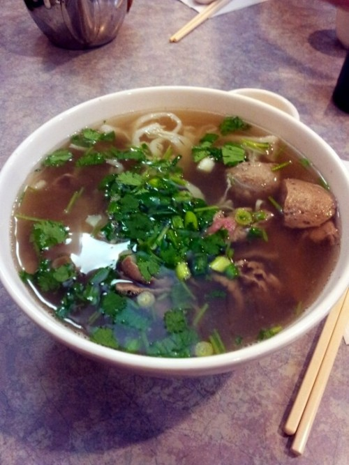 Pho!!! Been craving for this for months (Photo by jhbae1205)