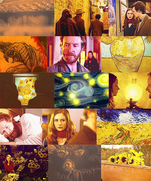 color meme | vincent and the doctor + anything requested by anon
