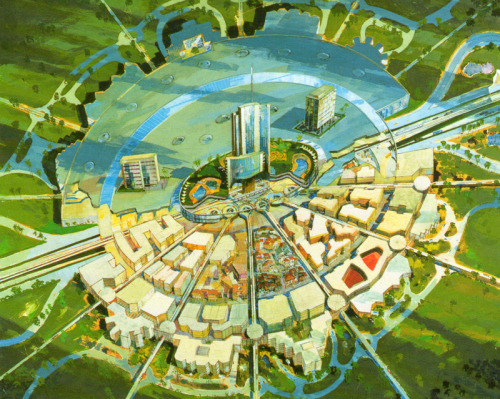 "ziadelsharkawiarch:  Disney's ""Project X"" in 1966."