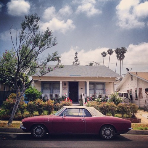 Corvair Corsa 140 (Taken with Instagram at Eagle Rock)